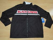 Chicago Blackhawks Starter Track Jacket full zipper men's size 2XL