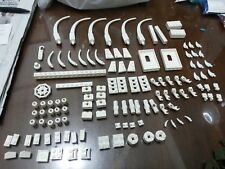 Non-Lego LOT of Bricks - White Color 120 pieces - Check Below
