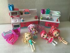 Lot  of Shopkins Shoppies  Figure Girl Dolls
