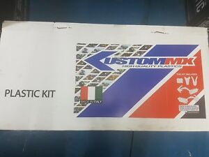 KUSTOM MX PLASTIC KIT KTM65 12-14