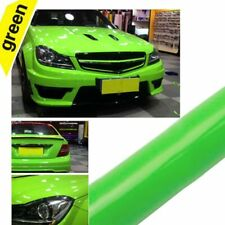 Green Gloss Vinyl Car Wrap Sheet Film Sticker Wrap Decal Air Bubble Free UK