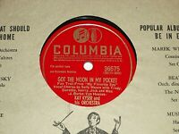 """KAY KYSER-Got The Moon In My Pocket (1942) COLUMBIA 10"""" 78 RPM Shellac Single"""