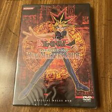 Yu-Gi-Oh Duel Masters Guide Official Rules DVD. New And Sealed 1996