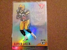 2001 Titanium Red Ahman Green Green Bay Packers Rookie