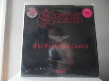 SAXON - THE  EAGLE HAS LANDED - CARRERE RECORDS-33 - IMPORT - MINT