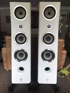 Focal Kanta N2 Floorstanding Speakers Ivory/Walnut - Spotless - RRP £6999