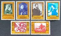 Belgium. Cultural Relief Fund Stamp Set. SG1661/66. 1958. MNH. (M71)