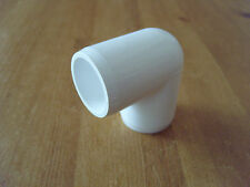 White furniture grade pvc Elbow fitting 1/2 inch sch40 4 in a pack
