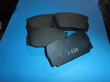 VOLVO P1800 TO 6/1962 FIAT 1500S OSCA FRONT BRAKE PADS - NO PIN HOLES  64325536