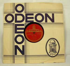 "Mr Badri Prasad SB2005 Flute Instrumental Rare 78 RPM 10"" Record Odeon INDIA"