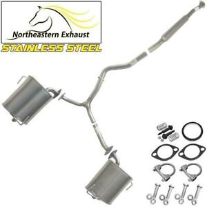 Exhaust System Kit  compatible with : 2009-2013 Forester 2008-2011 Impreza