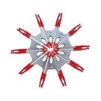 10 Unids 2 Pulgadas Metal Tarea Pesada Abrazaderas de Resorte Pinzas de Coc N9T2