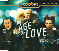 Scooter Maxi CD The Age Of Love - Limited Edition, Purple - Germany (M/M)