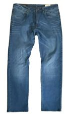 Mens Blue Denim Jeans Reell W 36 L 32 Used Straight Fit