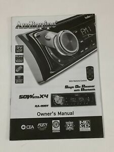 AUDIOPIPE  OWNER  MANUAL FOR  SINGLE DIN RECEIVER WITH BLUETOOTH RA-90BT