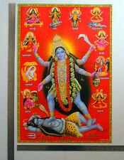 Kali Kaali Maa Avatars - POSTER Big Size: 19 x 28 inches