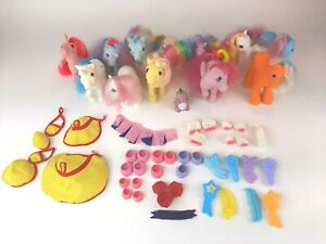 Lot of 13 Vintage G1 My Little Pony - Spike WigWam  Bowtie -Fast  Free Shipping