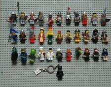 Lego Minifiguren Konvolut 35 Figuren Star Wars, Ritter, Piraten, India Jones