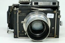 Plaubel Makina IIS camera with 10cm f2.9 Anticomar and roll film back