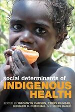 Social Determinants of Indigenous Health, , New Books