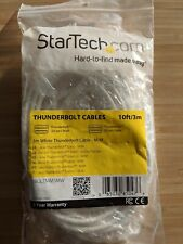 Thunderbolt Cables 3m White Thunderbolt Cable - M/M