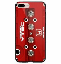 Engine Honda DOHC VTEC Red fit for iPhone 5 6 7 8 X XR XS MAX samsung cover case