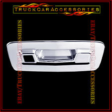 For CHEVY Traverse 2009 2010 2011 Chrome Tailgate Handle Cover WITH Camera Fit