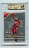 2003-04 Fleer Mystique Rookie Lebron James 628/99 RC BGS 9.5 GEM MINT