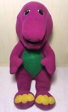 "Plush Talking Barney Playskool 14"" Interactive Stuffed Toy Dinosaur 1996 71245"