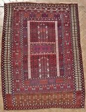 An antique Saryk Ensi Rug