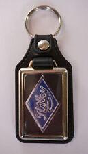 RILEY CARS FAUX LEATHER KEY RING/KEY FOB. VINTAGE BRITISH RILEY CARS