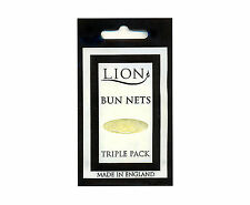 Lion Bun Nets Blonde x 600 (200 Triple Packs) Ballet,Dance,Gym,Horseriding