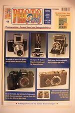 Photo deal photo deal cuaderno 44 1/2004, Minox 35, Ricoh, Baldi, Sigma Ys, korelle