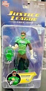 DC Direct Justice League Classic Icons Series 1 Green Lantern Action Figure NEW