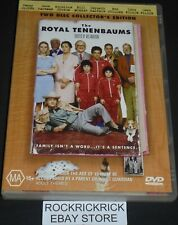 THE ROYAL TENENBAUMS 2 DVD EDITION REGION 4 (BEN STILLER,OWEN WILSON)