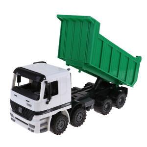 Kids Toy Vehicle Dumper Truck DieCast City Construction Tipper Car Toy Green