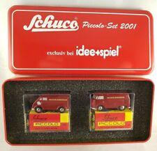 """Schuco piccolo Set """"Deutsche Bundesbahn"""" VW T1 + DKW 2001exkl. Idee+Spiel 05202"""