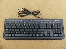 Microsoft Wired USB Keyboard 600 Model 1576 PN X879297-001 Lot of 2