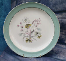 "Midwinter Fine China 10"" Dinner Plate  Mayfield Pattern 1950s 60s Well Signed"