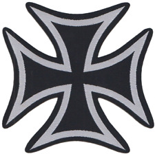 The Iron Cross Embroidered Patch Badge ** LAST FEW **