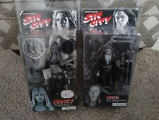 Sin City Nancy Miho Black and White Action Figure NIB NECA NIP Jessica Alba lot