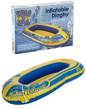 """45"""" Boat Dinghy Inflatable Swimming Pool Toy Kids Adult Garden Summer Beach Fun"""