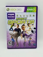 Kinect Sports (Microsoft Xbox 360) GAME COMPLETE BOXING TRACK & FIELD BOWLING ++