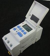 12V Zeitschaltuhr 16A digital Solaranlagen Solarpanel Elektroanlagen Timer