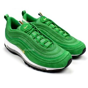 NWT Nike Air Max 97 St Patrick's Day Lucky Green Gold Mens Sneakers 10 AUTHENTIC