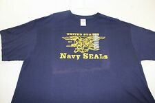NAVY Seals 2xl blue t shirt UNWORN w/ TAGS!!!!!
