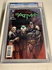 BATMAN # 40 CGC 9.8! KUBERT VARIANT. NEW 52!