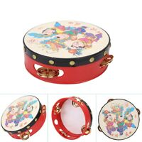Chinese Traditional Toy Rattle Drum Kids Cartoon Hand Bell Plastic For Baby