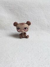 LITTLEST PETSHOP #594 / 2007 HASBRO PANDA BEAR PRUNE YEUX ROSE AIMANTER