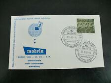 Mobria Internationale Briefmarkenausstellung 1960